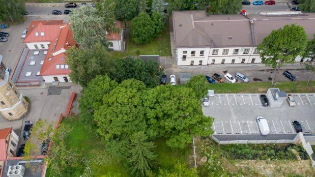 Prie Sapiegų rūmų ir parko planuojama nauja viešoji erdvė