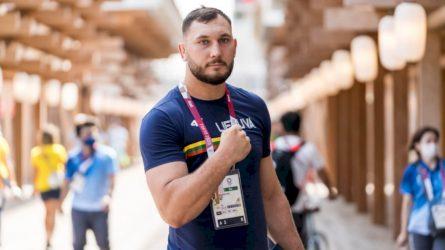 """Olimpinių žaidynių debiutantas imtynininkas Mantas Knystautas: """"Reikia eiti ir kovoti"""""""