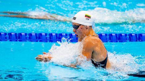 Trečiadienį Lietuvos plaukikai nepateko į pusfinalius