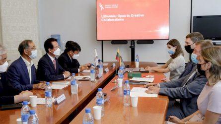 """S. Kairys: """"Lietuvos ir Pietų Korėjos santykiuose kultūrai tenka reikšmingas vaidmuo"""""""