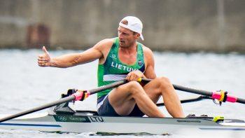 Ketvirtąsias karjeroje olimpines žaidynes irkluotojas Mindaugas Griškonis baigė šeštoje vietoje