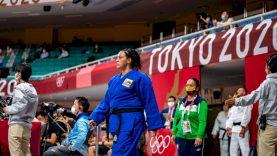 Japonijos kovos menų mekoje – olimpinis Lietuvos dziudo imtynininkės debiutas