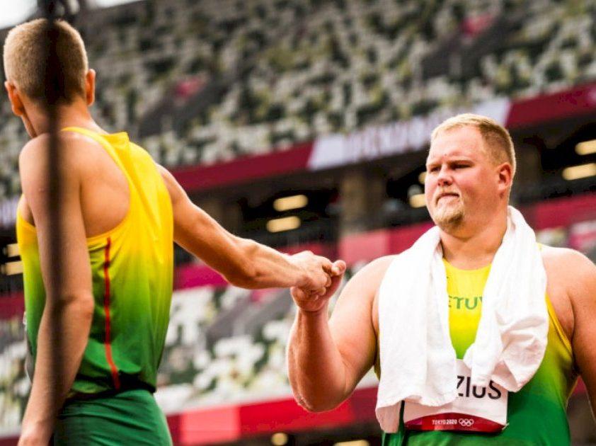 Kovas Tokijuje pradėjo lengvaatlečiai: A. Gudžius galingai įsiveržė į finalą, A. Glebauskas užėmė 26-ąją vietą