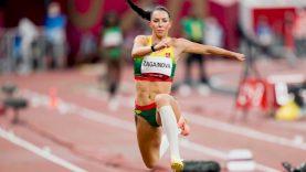 Trišuolininkė Diana Zagainova olimpinėse žaidynėse pasisėmė neįkainojamos patirties