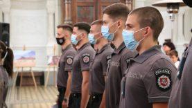 Prisiekė 16 naujų pareigūnų: šią profesiją pasirinko dėl noro padėti žmonėms