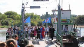 Vilkijoje vidurvasario šventė sujungė du Nemuno krantus