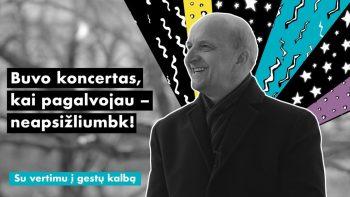 """R. Adomaitis: """"Buvo koncertas, kai pagalvojau – tik neapsižliumbk!"""""""