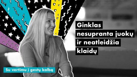 """R. Bučinskytė: """"Turi prisiimti atsakomybę už savo mintis ir jausmus"""""""