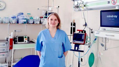 """Skubiosios medicinos pagalbos skyriaus medikė V. Vasiliauskaitė: """"Didelį įspūdį paliko supratimas, kad galiu padėti žmogui pačiu sunkiausiu metu"""""""