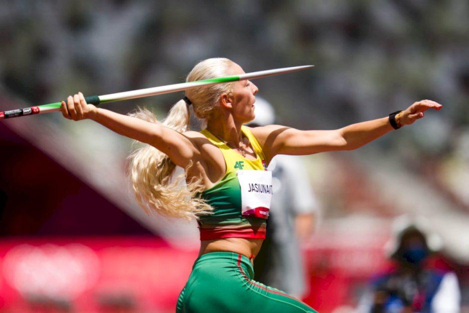 Livetai Jasiūnaitei jau pirmas metimas atvėrė finalo duris, bėgikai džiaugėsi įgyta olimpine patirtimi