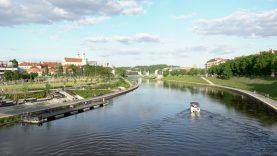 Upė grįžta vilniečiams – planuojami kairiosios Neries krantinės atnaujinimo darbai