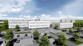 Santaros slėnyje prasideda Vilniaus universiteto Mokslo centro statyba