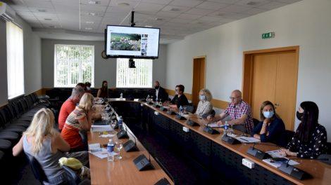 Susitikimo metu diskutuota apie trumpųjų maisto tiekimo grandinių plėtros Marijampolės regione