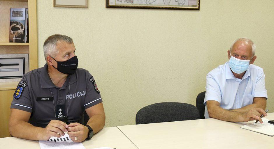 Policijos komisariatas: išaiškinama daugiau užfiksuotų nusikalstamų veikų