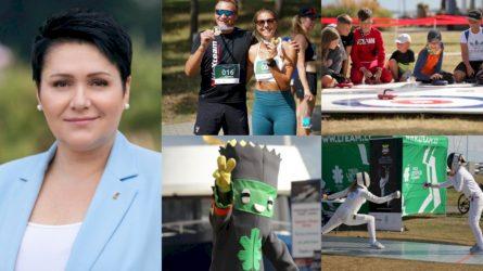 """D. Gudzinevičiūtė apie pasibaigusį Olimpinį festivalį Nidoje: """"Buvo labai smagu iš Tokijo matyti šypsenas dalyvių veiduose"""""""