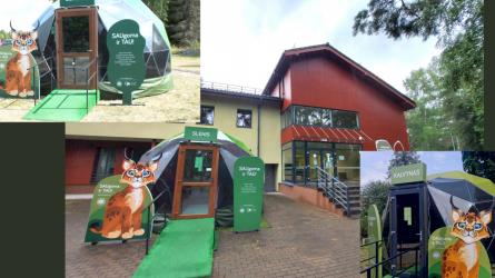 Žalieji kupolai jau nacionaliniuose parkuose