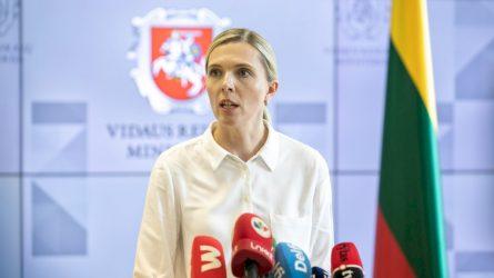Vidaus reikalų ministrė A. Bilotaitė: Europos Sąjungos migracijos teisės aktai nebeatliepia realybės