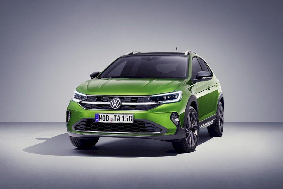 """""""Volkswagen"""" pristato naująjį kompaktišką krosoverį """"Taigo"""": išankstiniai užsakymai Lietuvoje jau rudenį, prekyboje – nuo 2022 metų"""