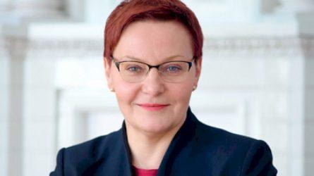 Daiva Ulbinaitė pradėjo eiti vidaus reikalų ministro patarėjo pareigas – talkins ekstremaliosios situacijos laikotarpiu