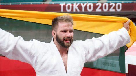 Dziudo imtynininkas Osvaldas Bareikis iškovojo paralimpinių žaidynių bronzos medalį