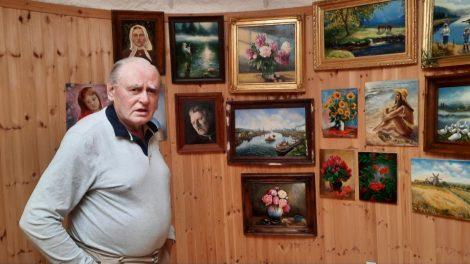 Architektas, pamilęs tapybą