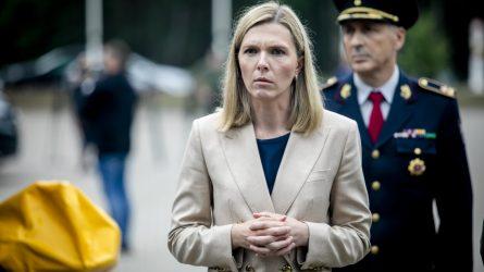 Vidaus reikalų ministrė A. Bilotaitė: į Lietuvą nebuvo įleista 1200 migrantų iš Baltarusijos