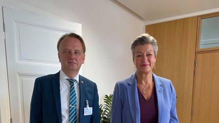 ES vidaus reikalų ministrų taryboje – dėmesys situacijai Afganistane ir ES teisei, nebeatitinkančiai šiandienos realijų