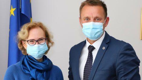 Aptartos Šiaulių miesto savivaldybės ir ligoninės bendradarbiavimo galimybės