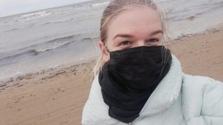 Socialinio darbo studentė džiaugiasi praktika kaimyninėje Latvijoje