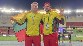 Čempioniškas duetas – apie (ne)lauktą pasaulio rekordą, studijas JAV bei galimybę varžytis Tokijuje