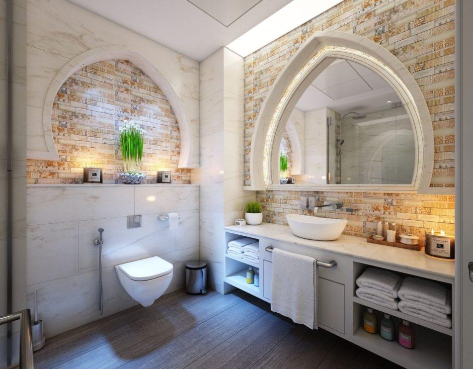 Kaip derinti plyteles vonios kambaryje?