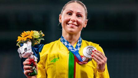Laurai Asadauskaitei-Zadneprovskienei – Tokijo olimpinių žaidynių sidabras!