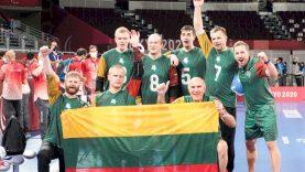 Lietuvos golbolo rinktinė iškovojo paralimpinių žaidynių bronzą