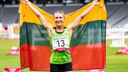 L. Asadauskaitė-Zadneprovskienė – apie kovą už sporto gerovę, šeimą ir Paryžių
