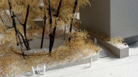 Greta būsimos Nacionalinės koncertų salės projektuojama dar viena viešoji erdvė