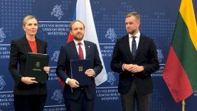 Lietuva su Čekija pasirašė memorandumą dėl 530 tūkst. eurų paramos kovai su neteisėta migracija