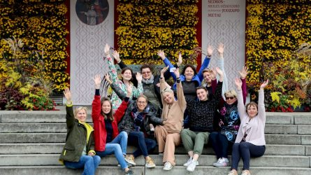 Pražydo floristų išpuošta Šiluva: siunčiama vilties ir tikėjimo žinia