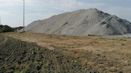 154 tūkst. tonų pelenų ir šlako atliekų taps žaliava keliams ir pamatams