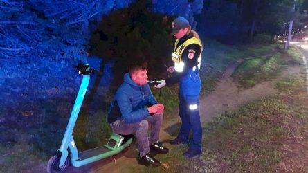 Policija ir BOLT specialistai tikrins paspirtukų vairuotojus
