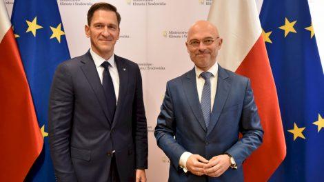 Lietuvos ir Lenkijos ministrų susitikime – energetinio saugumo ir konkurencingumo regione stiprinimo klausimai