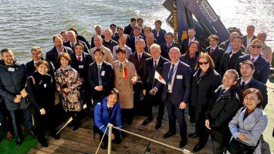 Klaipėdos uoste viešėjo Japonijos verslininkų delegacija