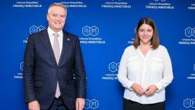 Ministrės G. Skaistės ir EBPO generalinio sekretoriaus M. Cormann susitikime – tarptautinės pelno mokesčio principų peržiūros klausimas