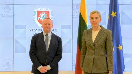 Ministrė A. Bilotatė: neteisėta migracija nepriimtina