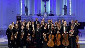 Miesto gimtadienio renginius užbaigė įstabus koncertas Šiaulių Šv. apaštalų Petro ir Pauliaus katedroje
