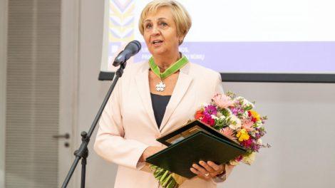 Ilgametei ŠVK direktorei – Prekybos, pramonės ir amatų rūmų įvertinimas
