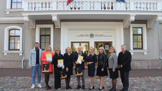 Apdovanoti 2021 m. verslo projektų konkurso nugalėtojai