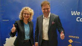 """A. Armonaitė: """"Vokietijos IT bendrovė įkurs didelį padalinį Lietuvoje"""""""