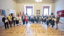 Vilniaus Rotušėje – apdovanojimai už nuopelnus savivaldai