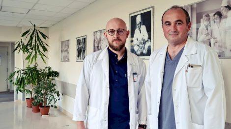 Onkologine liga sergančiam pacientui atliktas stemplės stentavimas per gastrostomą
