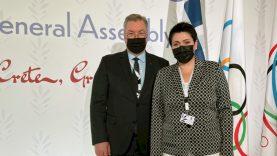 LTOK prezidentė D. Gudzinevičiūtė dalyvavo ANOC Generalinės asamblėjos sesijoje